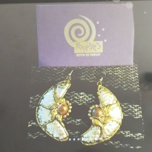 VTG Copper, Bronze and Steel earring from Poopsie'